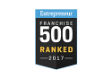 Entrepreneur Franchise 500 Ranked 2017